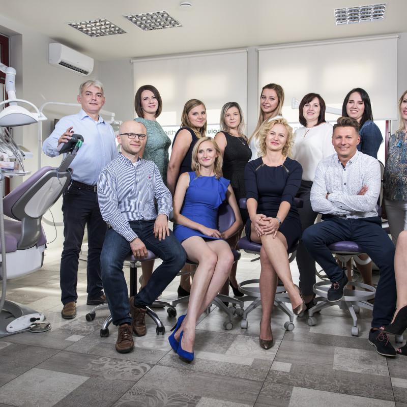 Zespół pracowników kliniki Ortholux